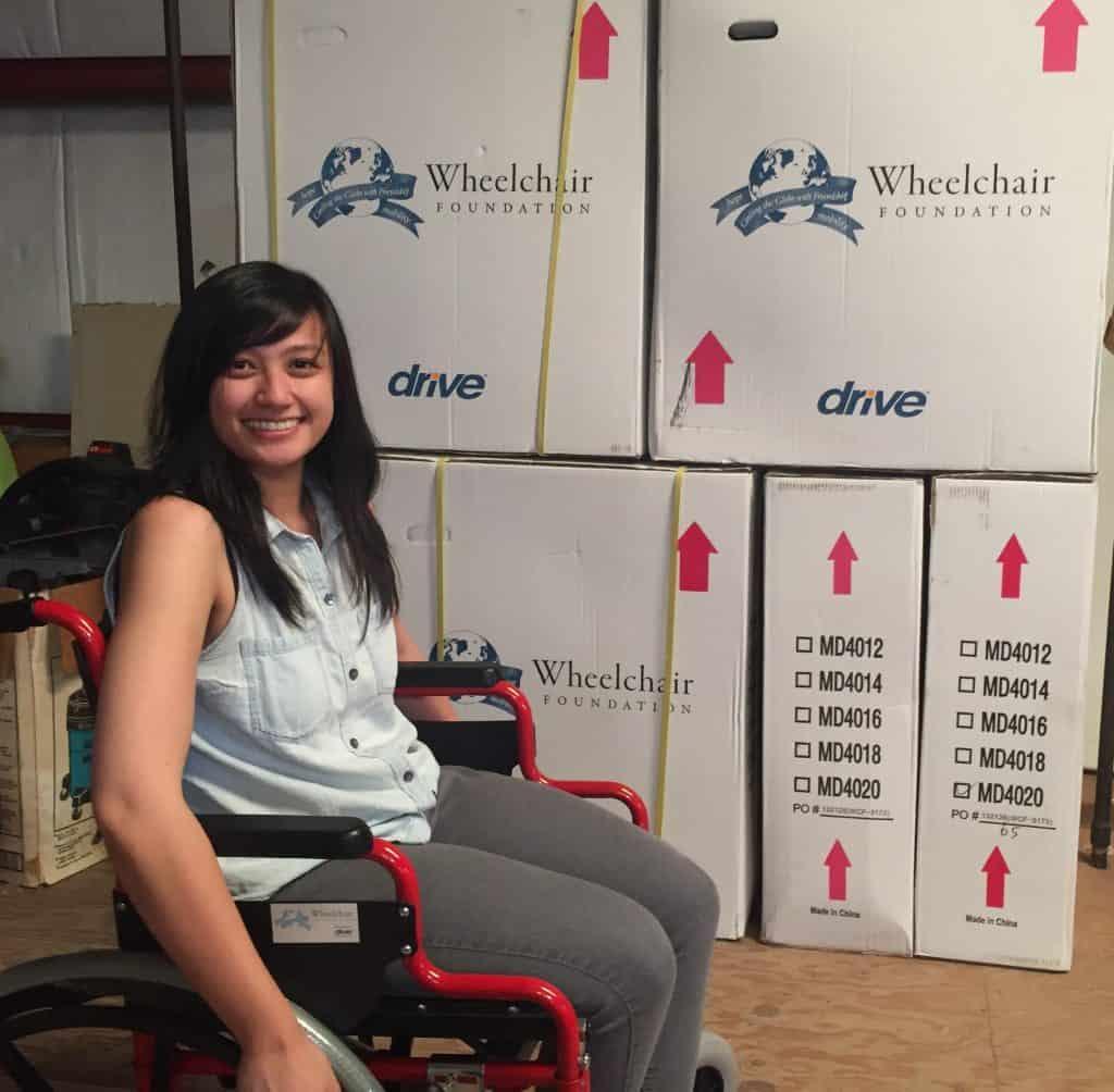 Wheelchair Foundation Donates 10 Wheelchairs To SVdP