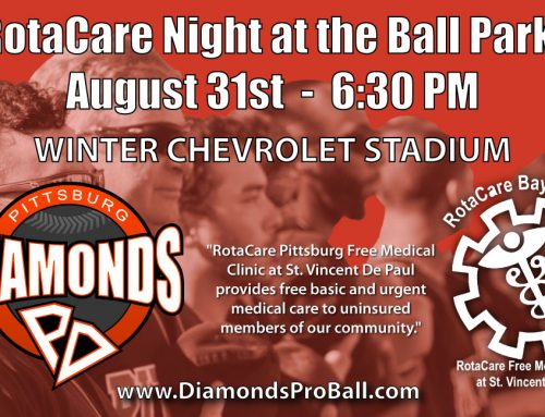 Pittsburg Diamonds Baseball Team To Have Fundraiser For RotaCare Pittsburg!